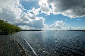 water, lake, nature